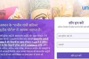 Rajiv Gandhi Career Portal Rajasthan [2021] login & Registration